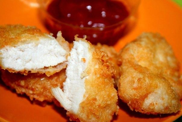 наггетсы из куриного филе рецепт с фото
